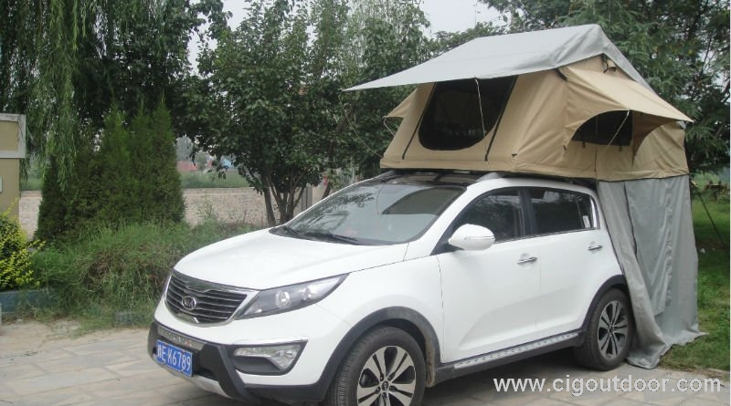 4x4 Car Tent with awning