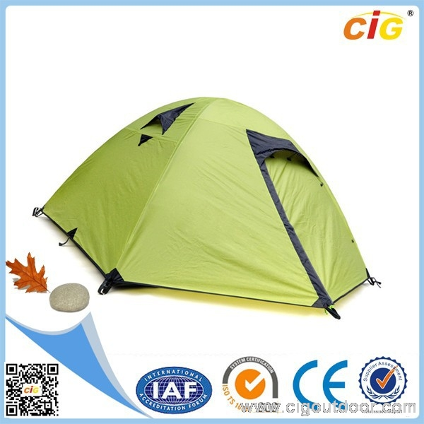 3 Person Double-layer Waterproof permanent tent outdoor