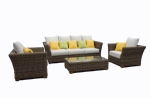 New Outdoor Rattan Wicker Daybed Lounge Sofa Couch Suite Table Garden Furniture