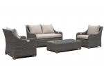 New Wicker Outdoor Sofa Couch Arm Chair Lounge Patio Suite Rattan Furniture Set